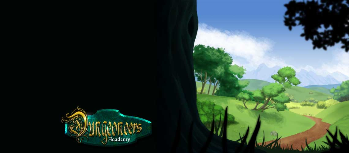 Dungeoneers Academy: Path to the Academy slide