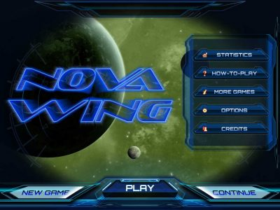 Nova Wing: iOS - Dive into Space Action