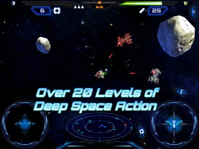 Nova Wing: iOS - Over 45 Levels of Space Action