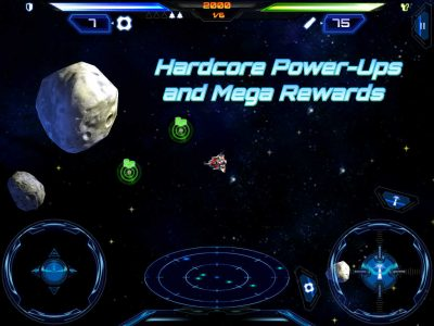 Nova Wing: iOS - Hardcore Power-Ups and Mega Rewards