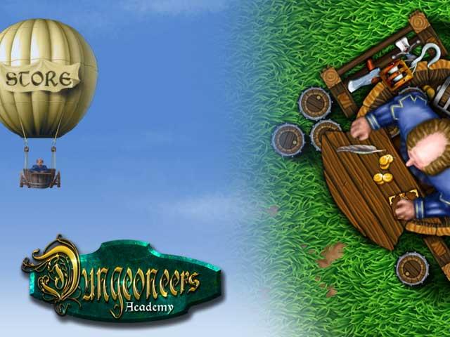 Dungeoneers Academy: Merchant and Store slide
