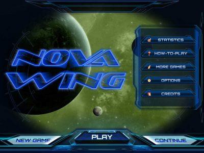 Nova Wing: iOS - Dive into Space Action