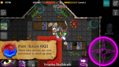 Dungeoneers Academy v4.0: Many base actions are now automated to speed up play.