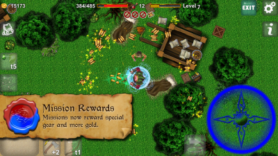 Dungeoneers Academy v4.0: Missions now reward special gear and more gold.
